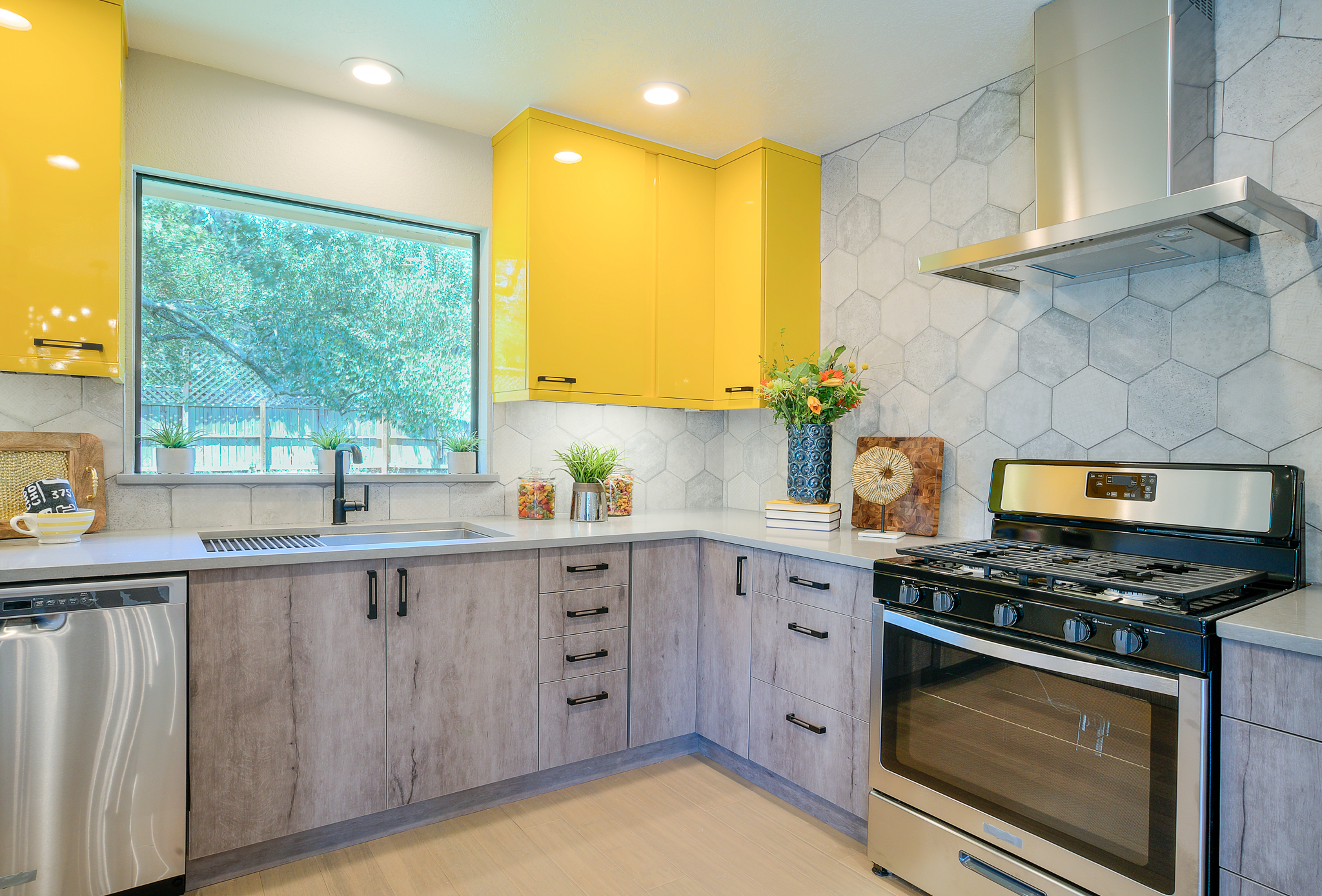 Michelle Thomas Design kitchen renovation for HGTV in Austin, Texas