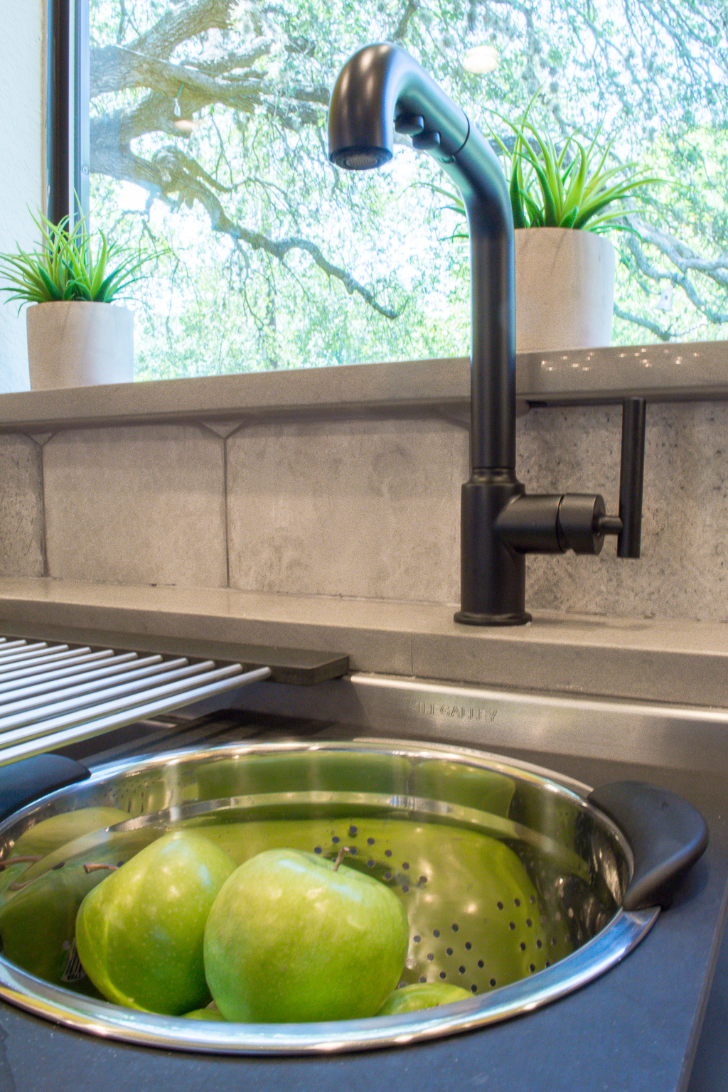 Kitchen sink and faucet donated for HGTV House Hunters Renovation in Texas