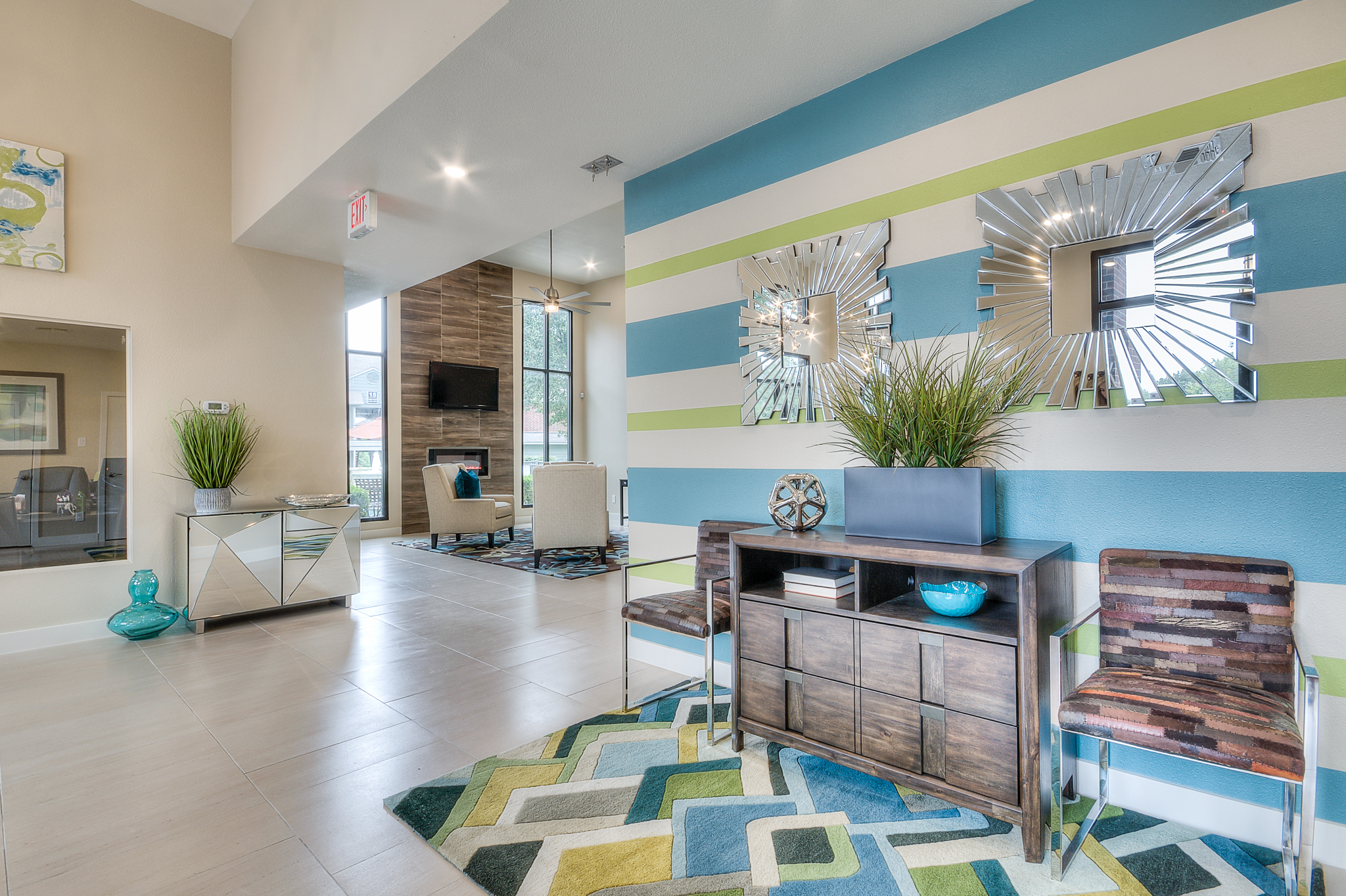 Interior design for Bradford Point multi-family apartment homes in Austin, TX